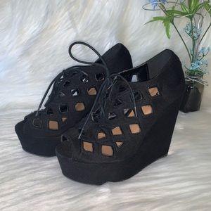 SODA •Wedge Sandals